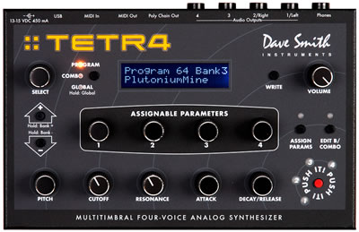 Dave Smith Tetra Desktop