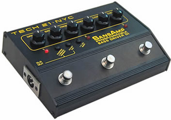 SansAmp Bass Driver Programmable
